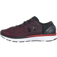 Under Armour Mens Charged Bandit 3 Running Training Shoes Trainers - Red