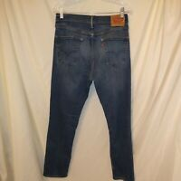 Levis 541 Athletic Fit Blue Jeans Mens 32X34 medium wash little distress