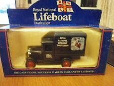 Lledo Days Gone Model A Ford Box Van with RNLI Decals