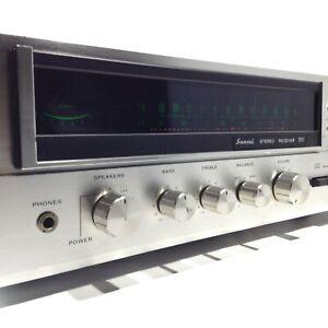Vintage 1975 SANSUI 551 Stereo Receiver - SERVICED 07/2021