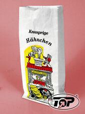 1000 Warmhaltebeutel Hähnchenbeutel Hendltüten Max & Moritz 3-lagig mit Alu 1/2