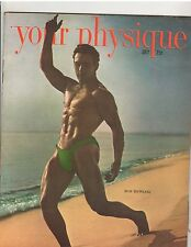 Your Physique Bodybuilding muscle magazine/Bob DeWeese 7-49