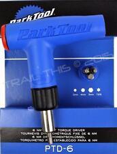 Park Tool PTD-6 Bike L-Handle 6Nm Torque Limiting Driver Wrench Carbon Fiber