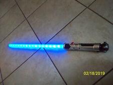 Star Wars Obi-Wan Obi1 Kenobi Ultimate Fx Lightsaber used Works