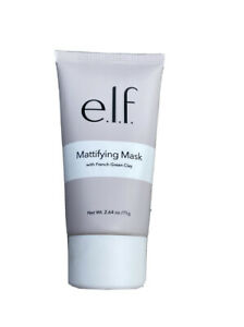 Elf Mattifying Face Mask With French Green Clay 2.64oz New