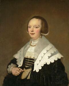 Oil painting jacob adriaensz backer - Portrait of a Lady noble woman figures art