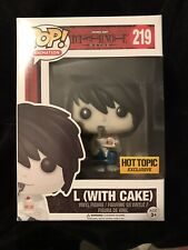 Funko POP: L (with Cake) #219 Pop Vinyl Pop Animation *HT Excl *FREE SHIP!