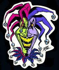 The Pizz Sticker Decal Evil Clown Hot Rod Poster Pop