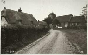 Early  LANGLEY  Essex ?   Photo Postcard