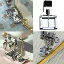 Models Domestic Sewing Machine 2 Sides Zipper Foot for Brother Janome Singer