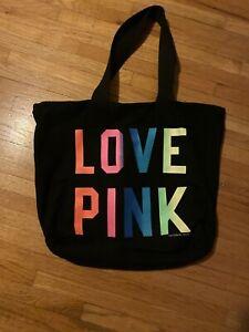 Victorias Secret Pink Zipper Tote