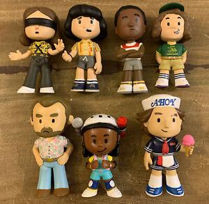 Mystery Minis Stranger Things S2 Lot Eleven Hopper Mike Erica Steve Lucas Dustin