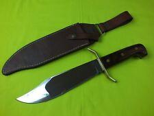 VINTAGE WESTERN W-49 BOWIE FIXED BLADE KNIFE ORIGINAL SHEATH NEAR MINT MARKED