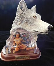Guardian Spirit by Robin Koni Limited Ed Soul of the Wild Wolf Bradford Exchange