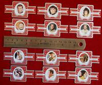 Vintage STAR TREK The Original Series / TOS: FULL SET of 12 MORRITA CIGAR BANDS