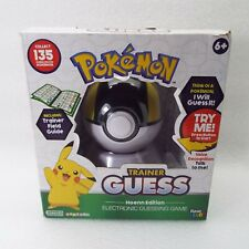 Pokemon Trainer Guess Hoenn Edition Electronic Talking Game Ultra Ball Guide NEW