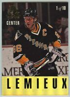 1993-94 Leaf Gold All-Stars #1 M. Lemieux / P LaFontaine NM-Mint (P21-120619-24)