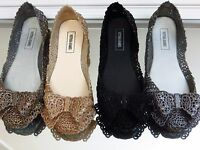 MARSELLA Jelly Ballet Flat Women shoes Jelly Flat Jelly Shoes