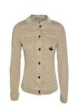 ROY ROGER'S giubbotto di jeans denim lavaggio colorato logo in PROMOZIONE