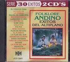 Folklore Andino Exitos del Altiplano 30 Exitos 2CDS New Nuevo Peru,Bolivia,Chile