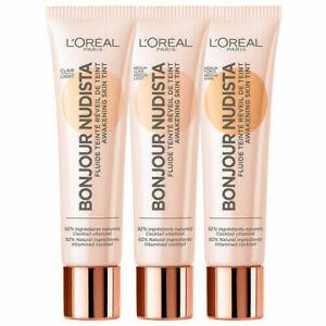 L'OREAL Bonjour Nudista Awakening Skin Tint BB Cream 30ml - CHOOSE SHADE - NEW