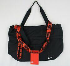 NIKE SPORTSWEAR ESSENTIALS TOTE Laptop Bag BA6142-010 Black Orange