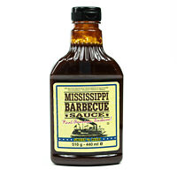 "Mississippi - Barbecue Sauce ""Sweet'n Mild"" 510 g (440ml) - BBQ Barbeque Soße"