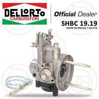 CARBURATORE DELL'ORTO SHBC 19.19 PIAGGIO VESPA 50 SPECIAL PER MODIFICA 130cc