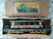 vintage PENNSYLVANIA RAILWAY RoadRoad Tin Litho Friction Toy Train, New/Boxed!
