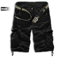 Men's Camo Cargo Sport Shorts Army Military Camouflage exercise Combat Trousers