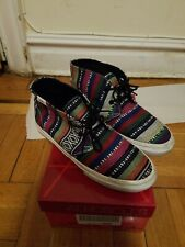 Vans Sample Chukka Sneakers Men 5.5 Womens 7 multicolor