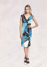 Robe d'été 46 nouveau robe JERSEY robe Femme Moulante Apart Bleu 870393 700