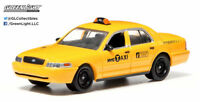 Greenlight 1:64 2011 Ford Crwon Victoria NYC Taxi (Hobby Exclusive)