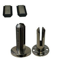 Stainless Steel 316l Spigots Frameless Glass Pool Balustrade Fence Clamp Post