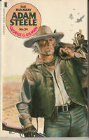 "Western Novel: Adam Steele #34 ""The Runaway""  George G Gilman - NEL 1983"