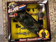 """12"""" Hasbro GI Joe Vs Cobra River Assault Action Figure and Kayak"""