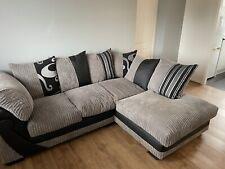 Grey sofa corner Used