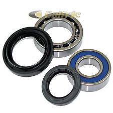 Rear Wheel Ball Bearings Seals Kit Fits YAMAHA BIG BEAR 400 YFM400 4WD 2000-2006