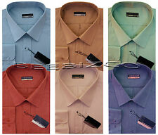 New Mens King Size Long Sleeve Summer Shirt 3XL - 6XL By Tom Hagan