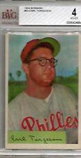 1954 Bowman Earl Torgeson #63 BVG Beckett 4 P497