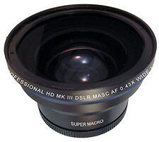 ZE-543R 0.43X Professional HD Fisheye Lens Size 52MM 55MM 58MM 62MM 67MM