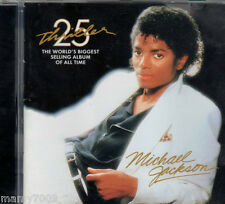 CD=MICHAEL JACKSON=THRILLER 25°YEAR=THE WORLD'S BIGGEST SELLING ALBUM ALL TIME