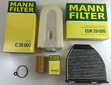 Filtro hombre set, inspektionskit mercedes s204 w204 x204 s212 w212 c207 CDI