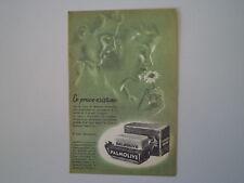 advertising Pubblicità 1951 SAPONE PALMOLIVE