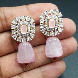 Gorgeous Party Stud Ear Earrings For Women Emerald Cut Crystal Fashion Jewelry