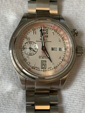 BALL WATCH Pulsemeter CM1038-SAJ-WH Train Master Stainless Steel 43 Cm Preowned