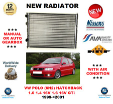 FOR VW POLO 6N2 1.0 1.4 16V 1.6 16V GTi 1999->2001 NEW RADIATOR ** OE QUALITY **