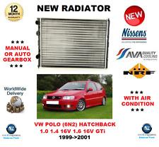 für VW Polo 6N2 1.0 1.4 16V 1.6 16V GTI 1999- > 2001 NEU Kühler OE-Qualität