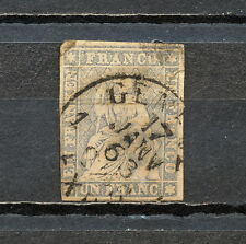 NNBP 236 SWITZERLAND 1854 - 1855 USED