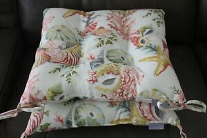 Pillow Perfect Tufted Seat Cushions
